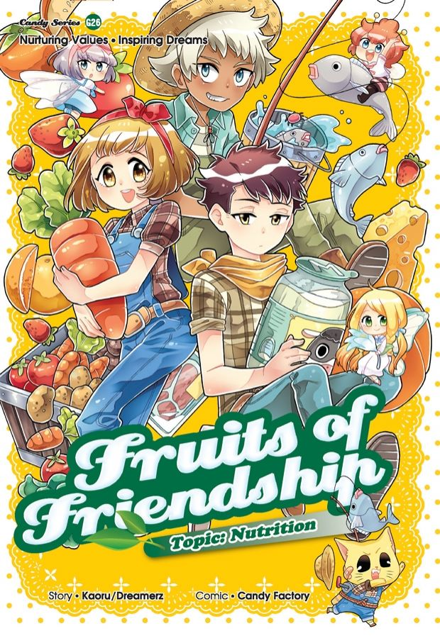 Gempakstarz Graphic Novel Candy Series Fruits Of