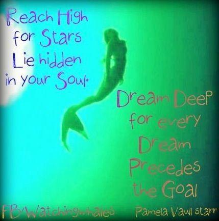 Dreams quote via www.Facebook.com/WatchingWhales