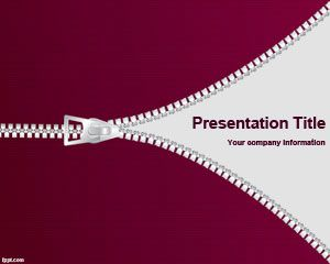 Cloth zipper powerpoint template is a free cloth zip template for cloth zipper powerpoint template is a free cloth zip template for powerpoint that you can use toneelgroepblik Gallery