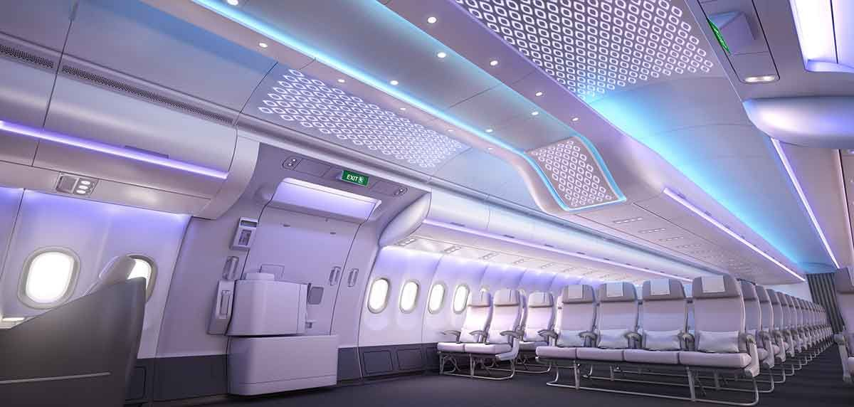 The new Airspace by Airbus Cabin Concept revealed - http://www.planetalking.co.uk/2016/03/the-new-airspace-by-airbus-cabin-concept-revealed/