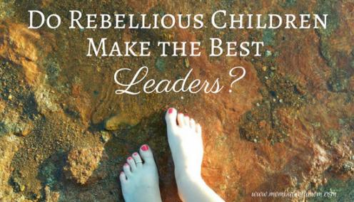 Do Rebellious Children Make the Best Future Leaders?