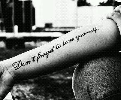 Self love #tattoo #life #love