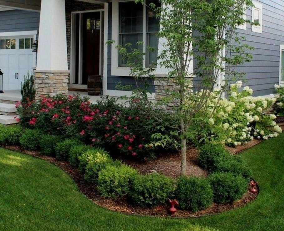 20+ Cute Front Yard Landscaping Design Ideas | Front yard ...