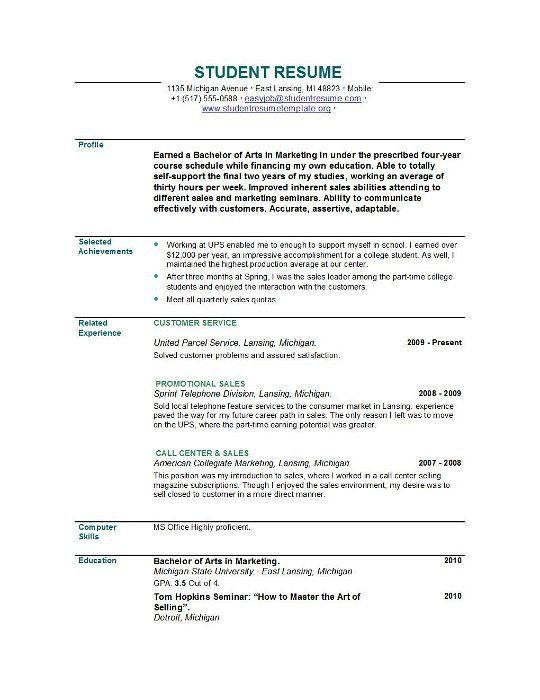 Great Resume Objectives Httpsgooglbzg0X8  Resume Cv  Pinterest  Resume Objective