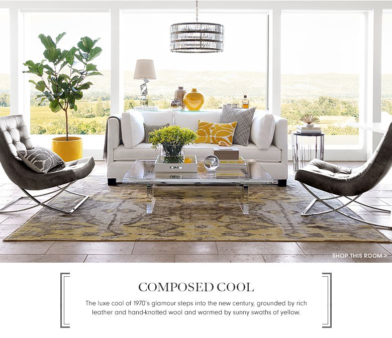 Comoposed Cool Williams Sonoma Interior Living Pinterest Living Rooms Room And Interiors