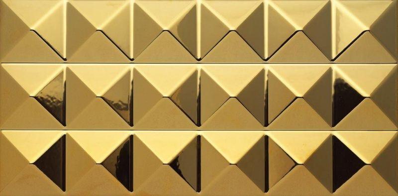 186592 Golden Keops Dune Wall Tiles Decorative Tile Handmade Mosaic