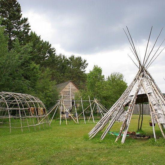 Trading Camp #GrandPortage #Minnesota