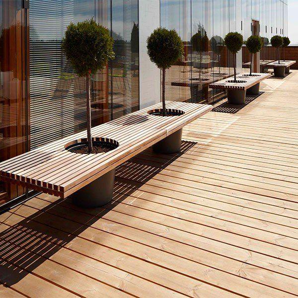 Meuble végétal - mobilier design et idées DIY   Extérieur ...