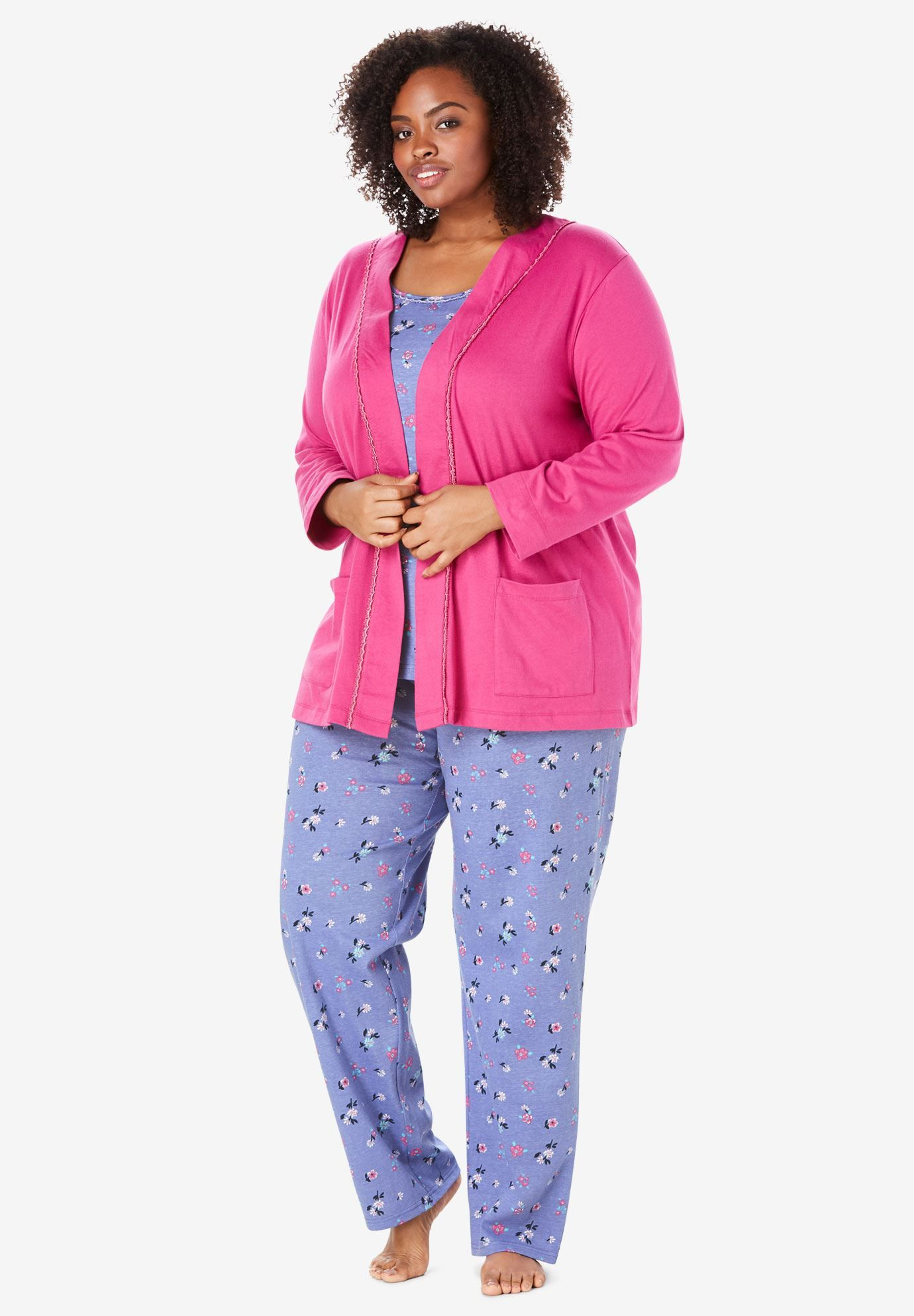 37c65a44c8 3-Piece Cotton Pajama Set by Only Necessities®
