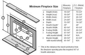 Image Result For Fireplace Surround Code Requirements Fireplace Dimensions Metal Fireplace Fireplace Hearth