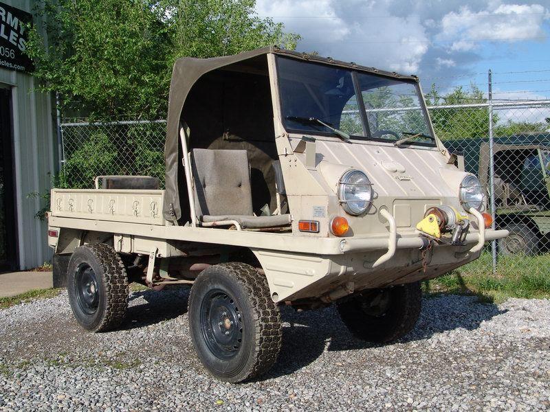 Steyr Puch Haflinger Pathfinder 700AP | Sweet rides ...