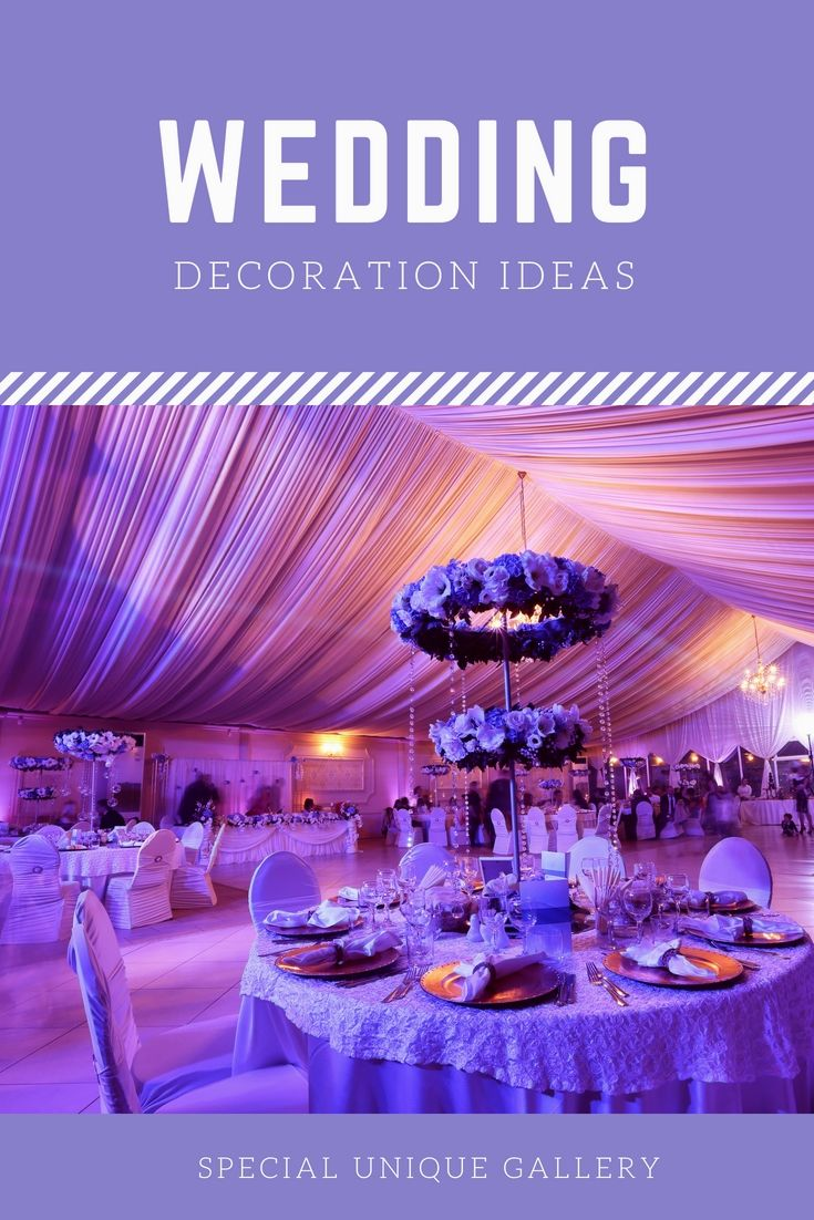 Lavender wedding decor ideas  Wonderful Wedding Decorations Ideas Libraries  Great And