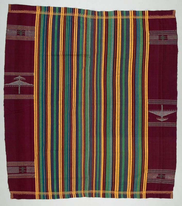 African Home Decor By 3rd Culture: Wrapper From The Nupe People Of Nigeria