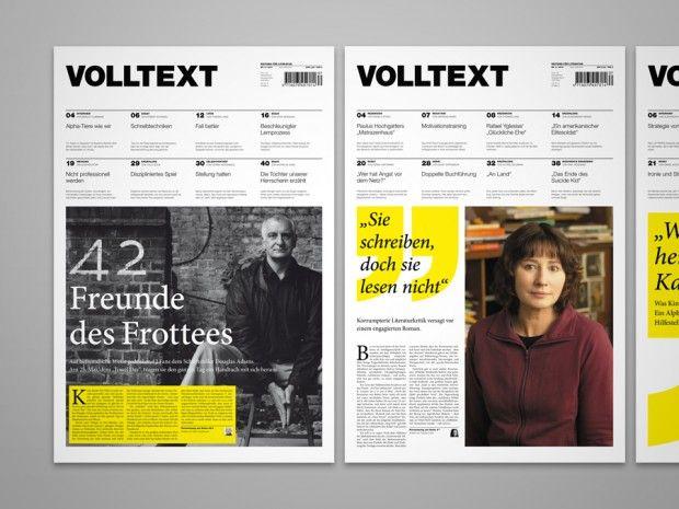 VOLLTEXT - Zeitung für Literatur by Jann de Vries
