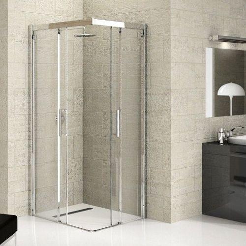 Corner Opening Shower Enclosure Google Search Shower Cubicles Shower Enclosure Glass Shower