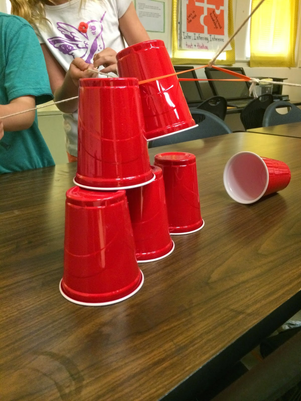 Teamwork Cup Stack Take 2 (With images) Indoor team