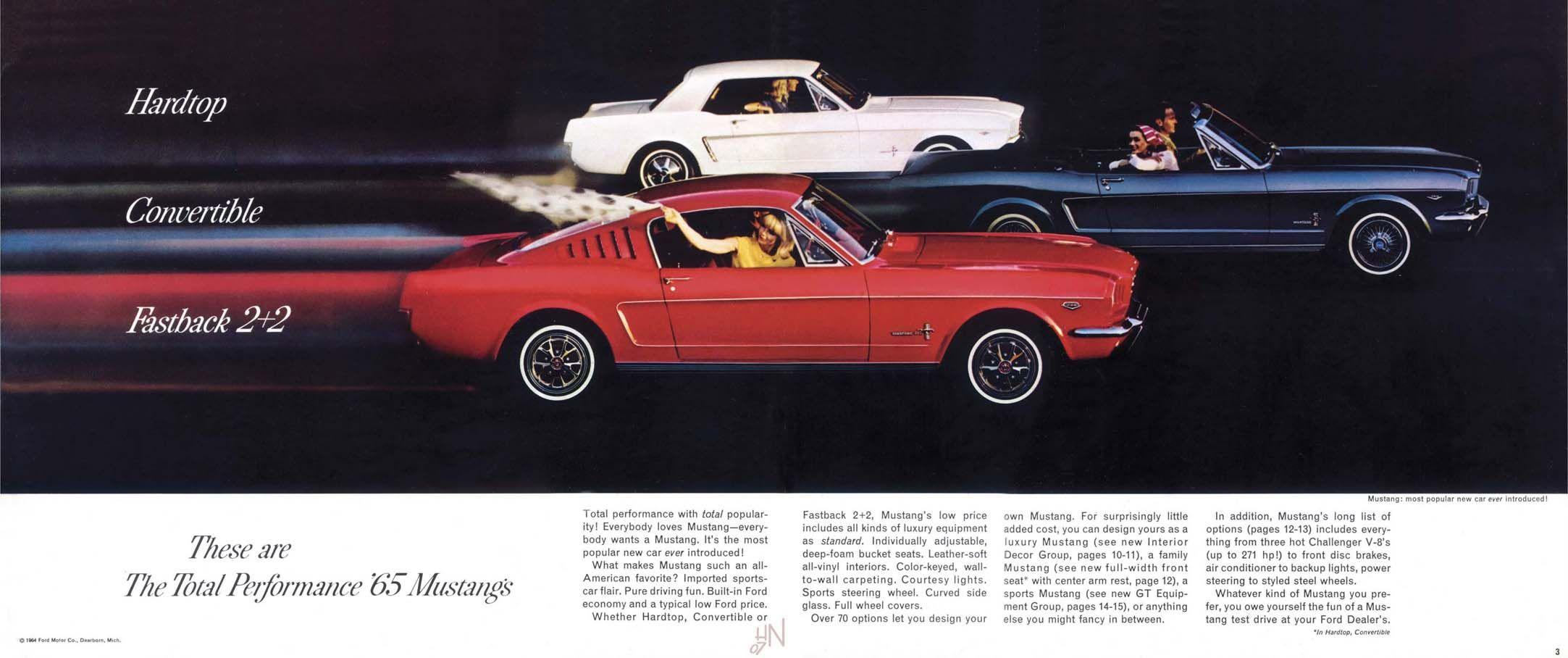 1965 Ford Mustang Ad Ford Mustang 1965 Ford Mustang Mustang