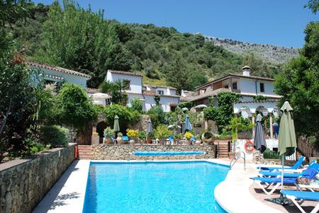 Molino Del Santo hotel & restaurant, Benaojan, #Andalucia #Spain
