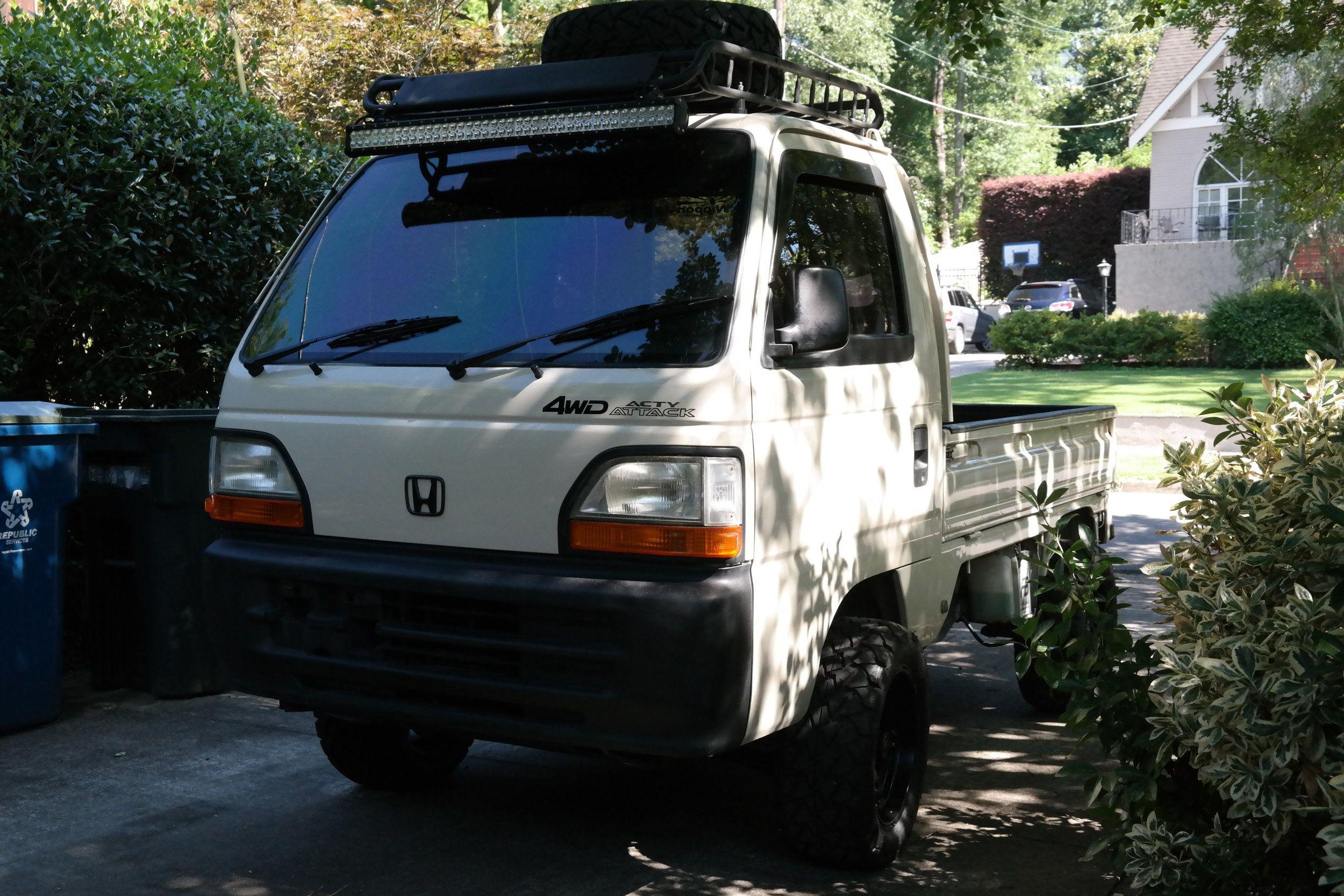 1994 Honda Acty Truck In 2020 Trucks Mini Trucks Honda