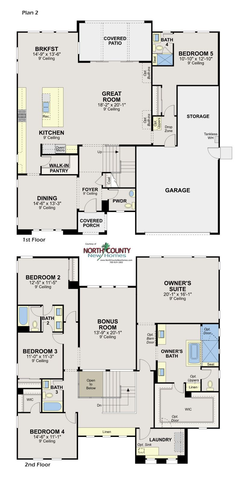 Whittingham At Harmomy Grove Village North County New Homes House Floor Plans Floor Plans Dream House Plans