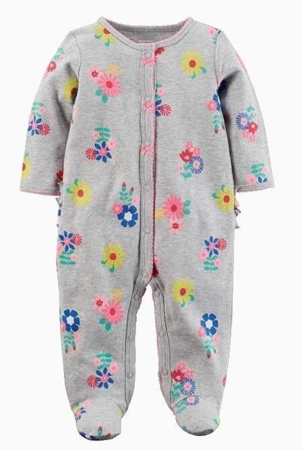 9381f5db9f23f Newborn baby pajamas unicorn cotton romper boys clothes overalls romper  infants bebesdresskily