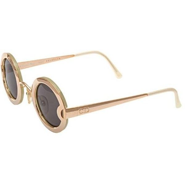 ca13fe380b Preowned Vintage Christian Dior Mother Of Pearl Sunglasses 2918 (4.450 BRL)  ❤ liked on Polyvore featuring accessories