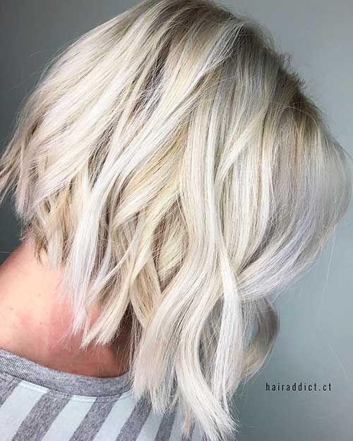 Kurzes Gewelltes Haar 23 Trend Frisuren Pinterest Kurze