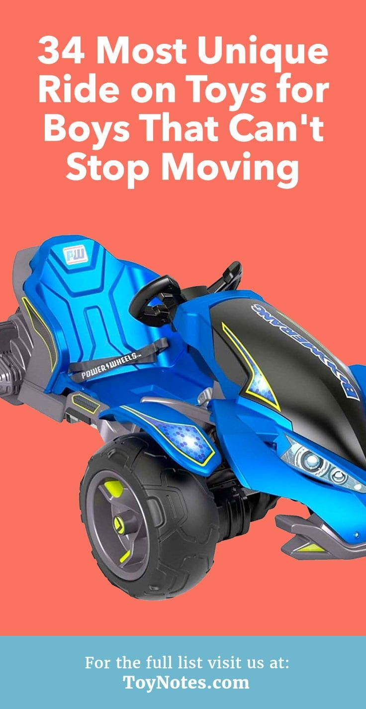 16 Most Unique Ride on Toys for Boys That Can't Stop ...