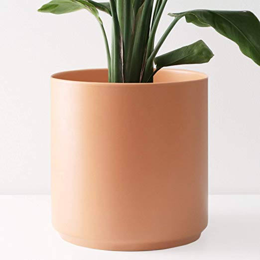 Amazon Com Peach Pebble 8 Ceramic Planter 15 12 10 8 Or 7 Large Melon Plant Pot Hand Glazed Indoo In 2020 Indoor Flower Pots Planters Indoor Planters