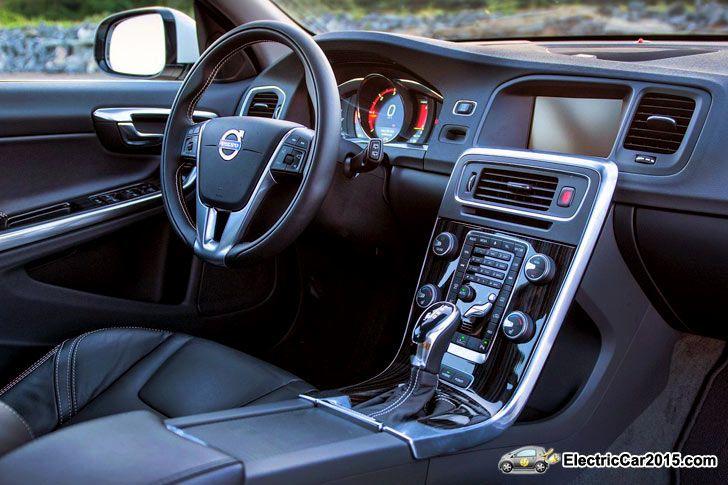 2015 Volvo V60 Plug in Hybrid R Design interior | Hybrids & Electric ...