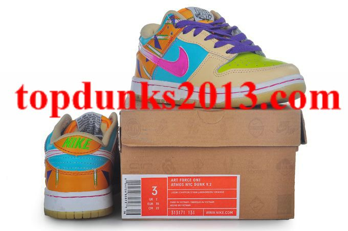 Sb Low Menu Custom Atmos NYC Style 313171 131 Nike Dunk Kids Guaranteed