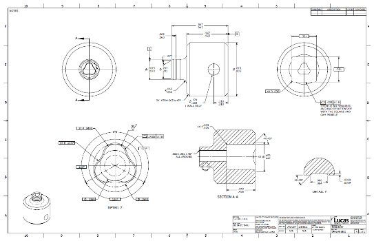 How to develop mechanical cad drawings and design as a for Engineering blueprints