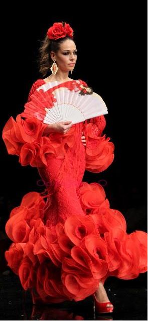 Flamenco on the catwalk