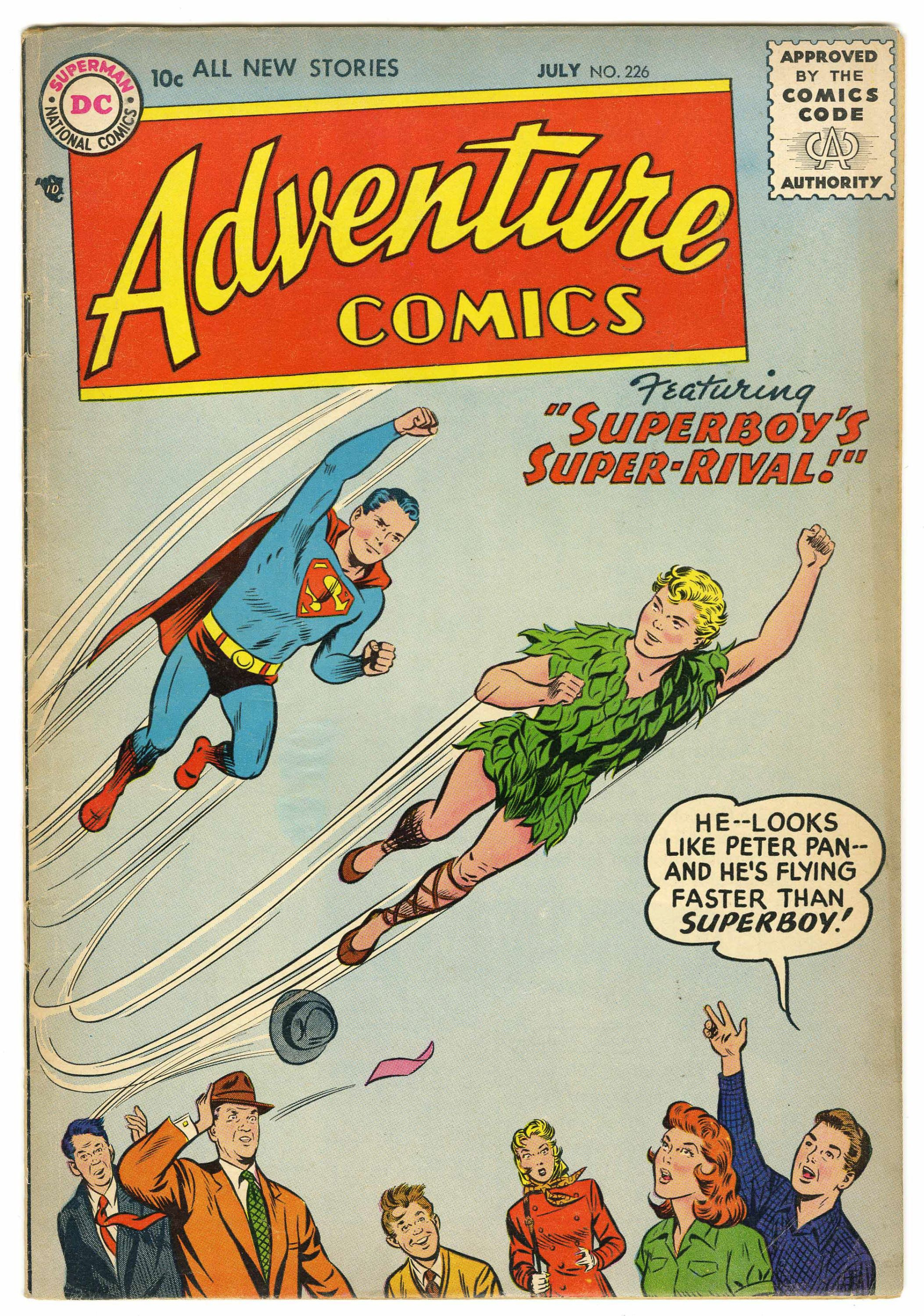 Adventure Comics #226 1956 - Before our comic book heroes\' values ...