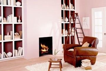 Positive and negative space appear in every room. A ...