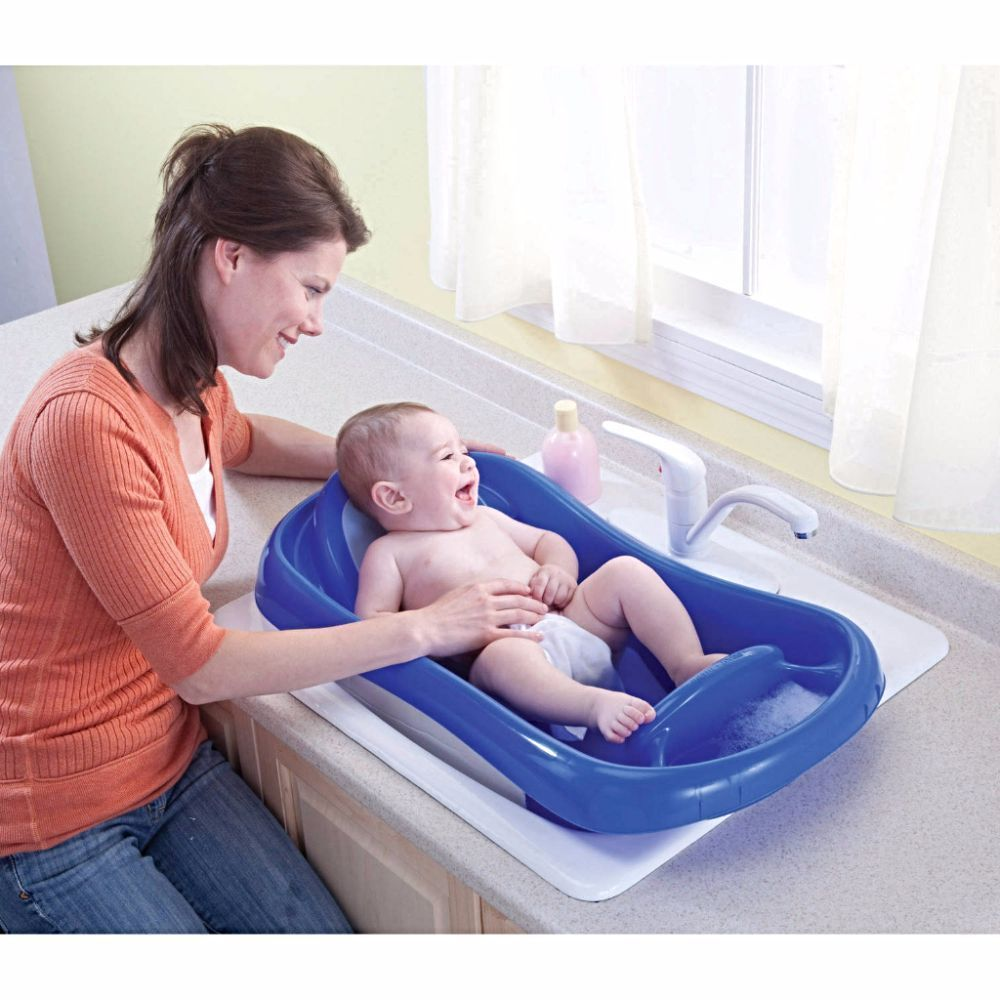 BABY BATH TUB Sling Newborn Toddler Infant Seat Shower Bathing ...