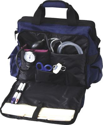 Nurse Mates Ultimate Nursing Bag Home Health Travel