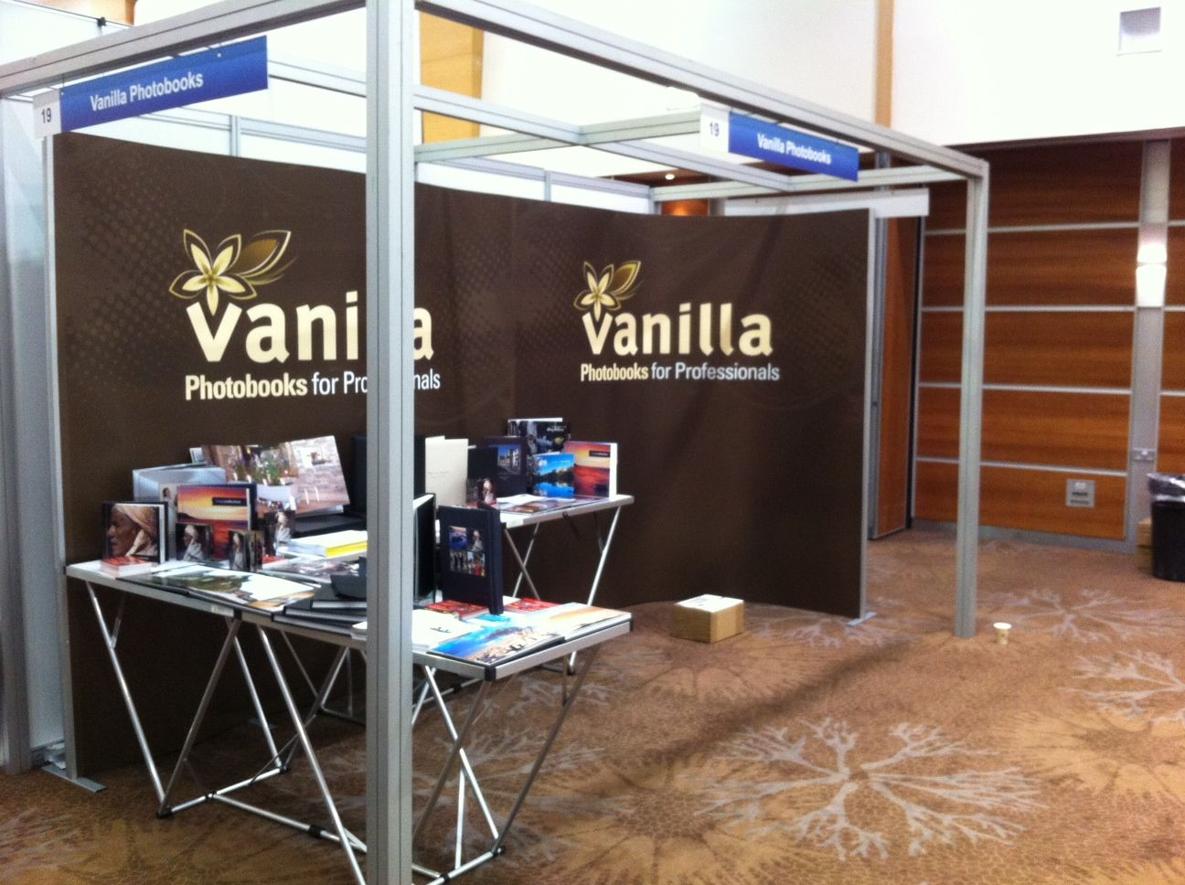 vanilla photobooks stand at photolive this weekend photolive