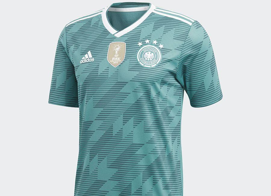 7b1a2f63 #football #soccer #futbol #dfb #DieMannshaft #adidasfootball Germany 2018  World Cup Adidas Away Kit
