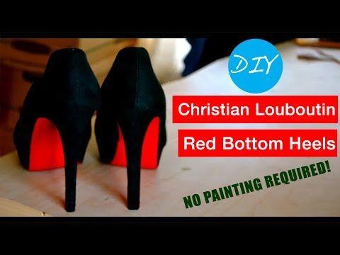 631e5ccbc07 DIY Christian Louboutin Red Bottom Heels