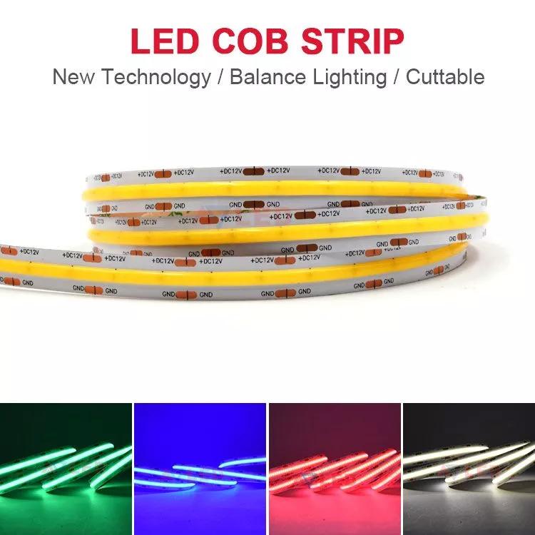 New Cob Flexible Led Strip High Density 12v 24v 528leds Dot Free Cob Led Strip Buy Long Cob Led Strip Flexible Led Strip Lights Led Strip Led Strip Lighting