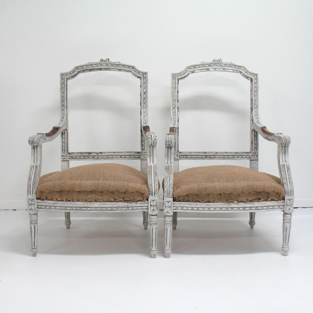 Antique Louis XVI Style Chairs Louis xvi Carved wood and Woods