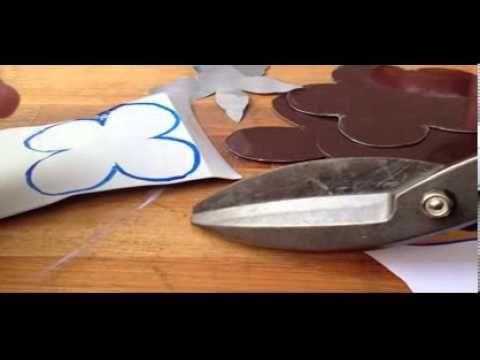 como cortar moldes de alumínio para corte em arame quente - YouTube