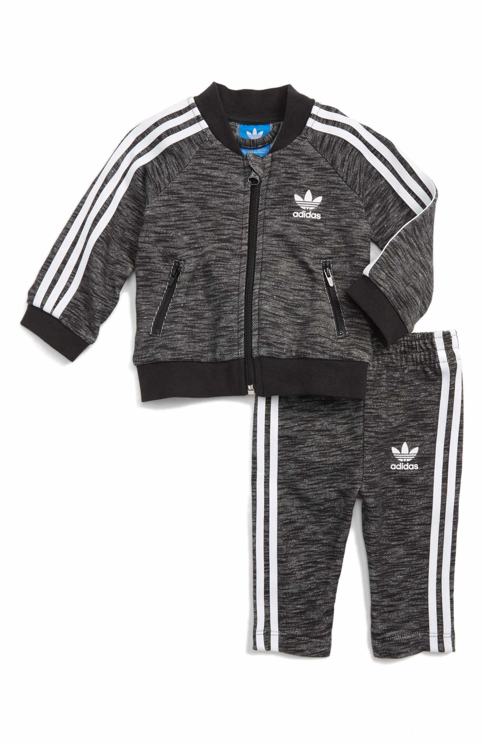 Main Image - adidas Superstar Track Jacket   Pants Set (Baby Boys ... a61b8164c7b7