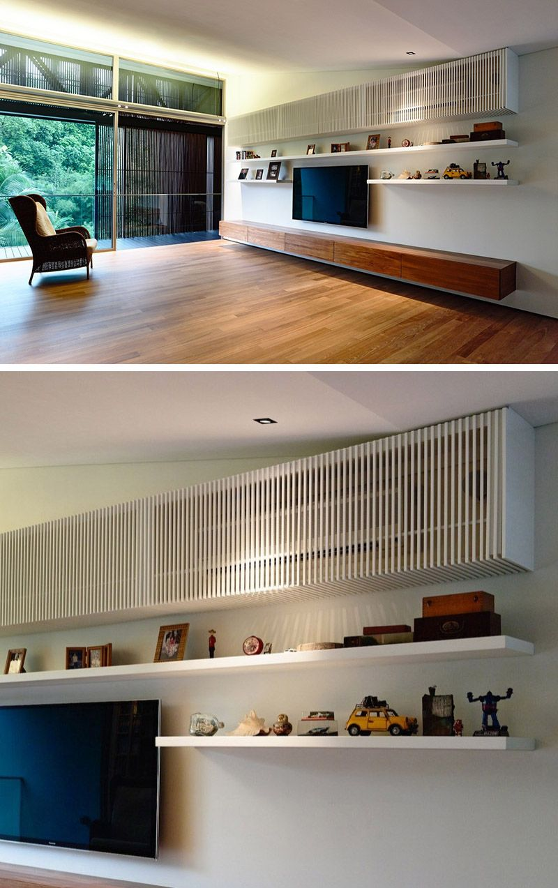 Interior Design Ideas Hide The AirConditioning Unit