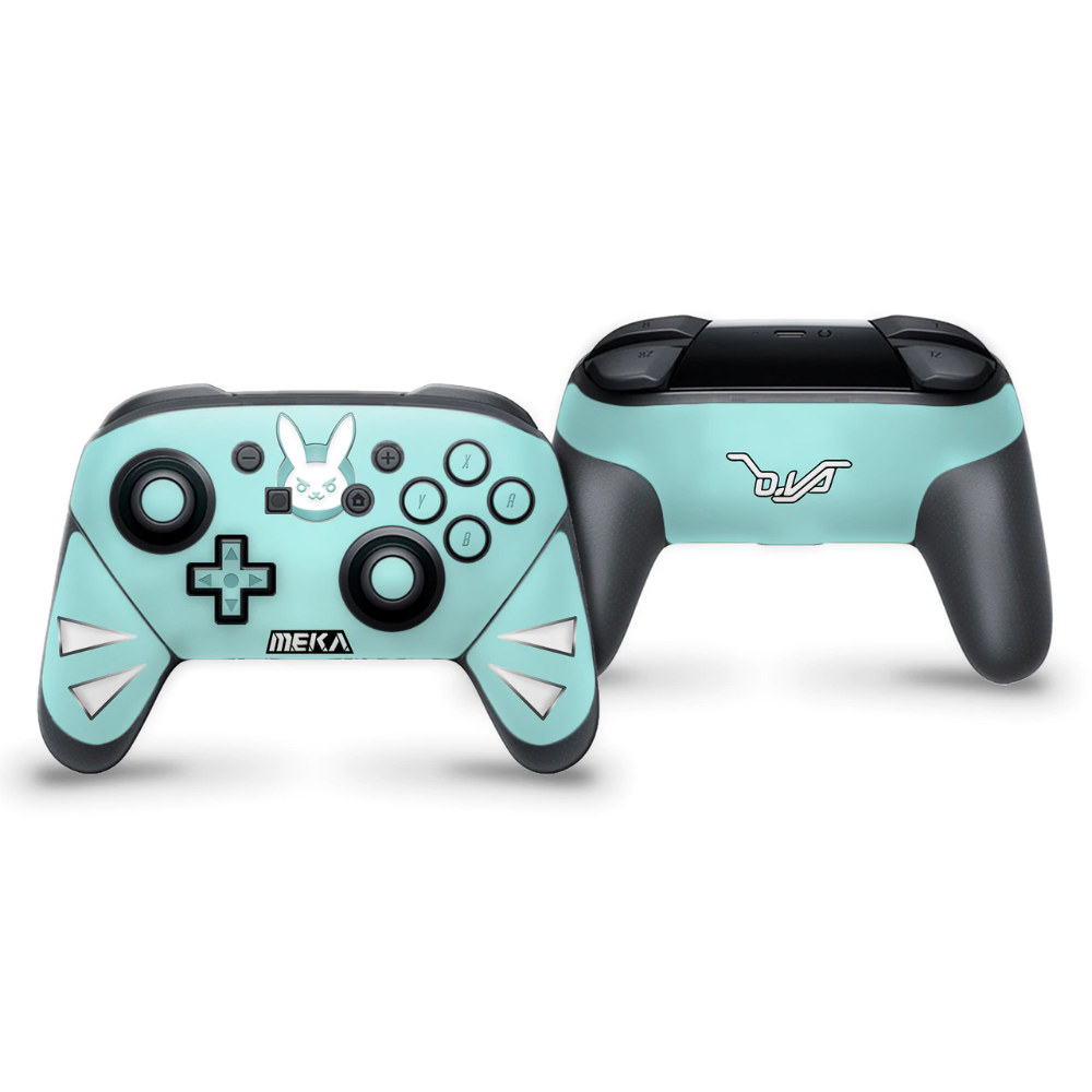 D Va Cruiser Switch Pro Controller Skin Switch Control Nintendo Switch
