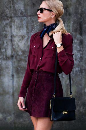 3f4bd4a8cc FORAGE FASHION | Casual+Chic Autumn & Winter | Fashion, Oxblood ...