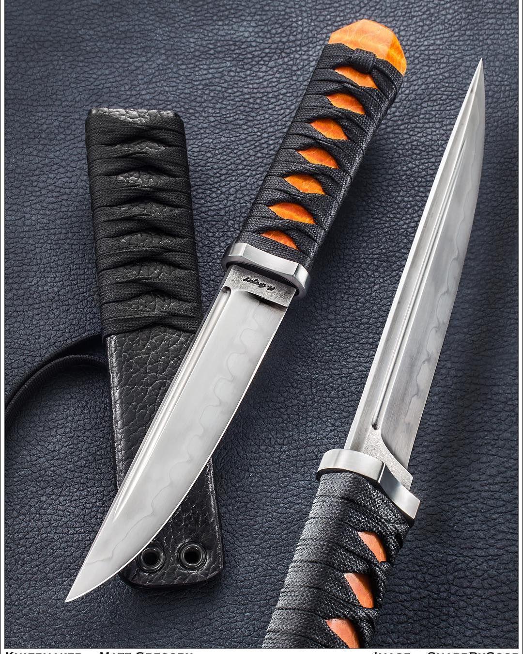 Matthew McGregor knives