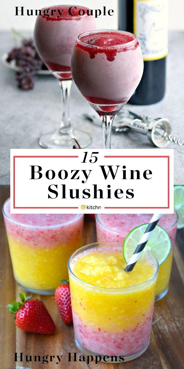 15 Wine Slushies You Need to Drink Outside This Summer