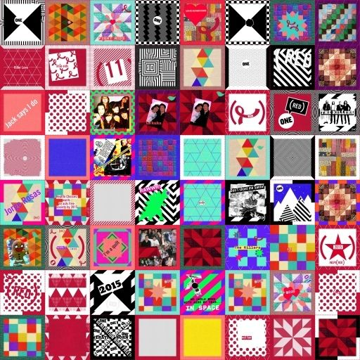 (2015) QUILT - (RED)
